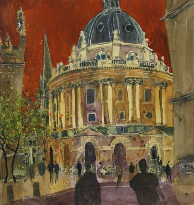 Limited Edition Prints Artist Susan Brown - Radcliffe Camera, Oxford