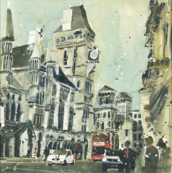 Susan BROWN - The Royal Courts of Justice, London