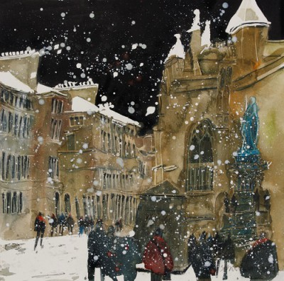 Limited Edition Prints Artist Susan Brown - St Giles Cathedral, Edinburgh