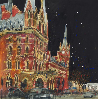 Limited Edition Prints Artist Susan Brown - St Pancras Station
