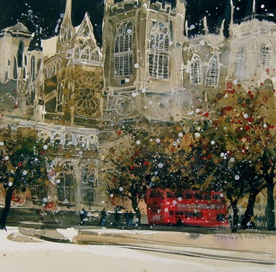 Limited Edition Prints Artist Susan Brown - Westminster Abbey, North Transept