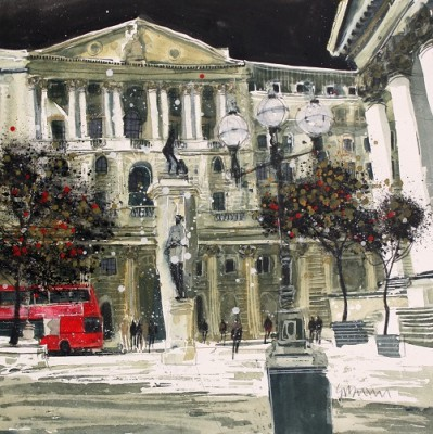 Limited Edition Prints Artist Susan Brown - Threadneedle Street - London