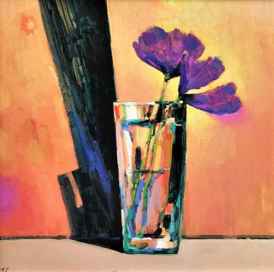 British Artist Terence CLARKE - Glass and Shadow